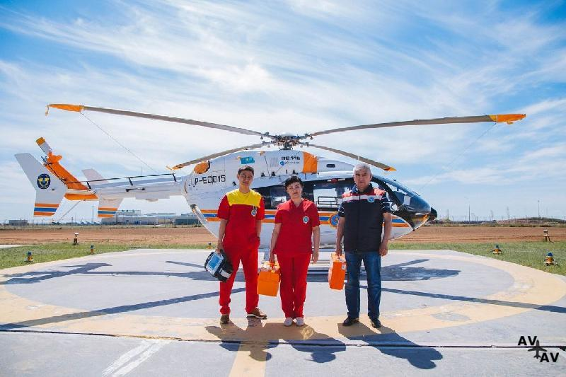 Mil Mi-8 Helicopter Enters the Altai Air Ambulance Service
