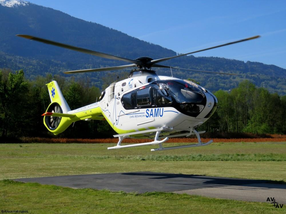 French Emergency Medical Services First Fleet of H135s Fully Operational