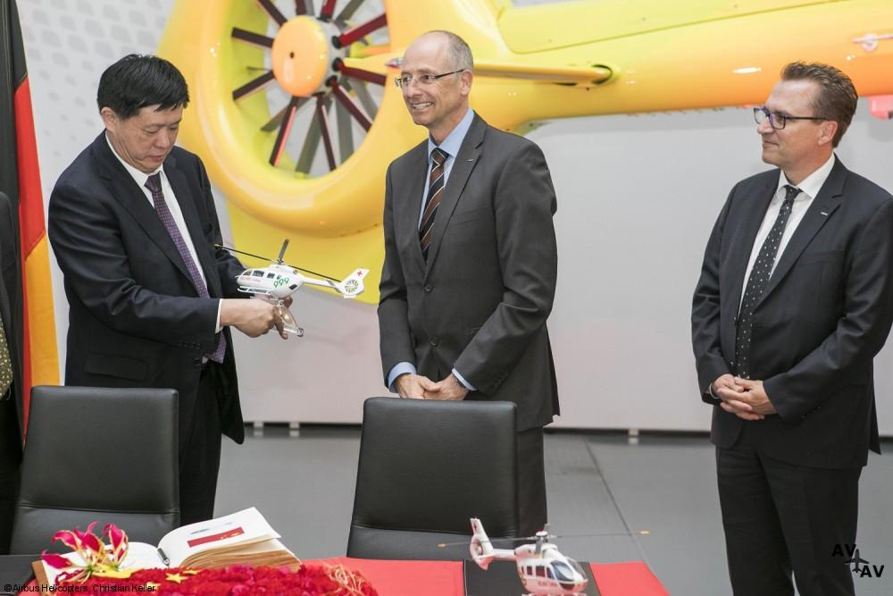 Beijing 999 Orders the First H145 for Medical Rescue and SAR Missions in China
