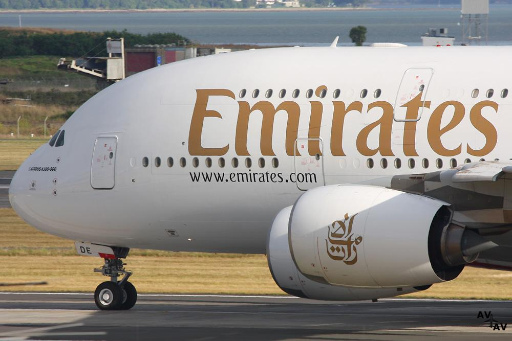 Emirates Aircraft Quarantined At New York's John F. Kennedy Airport